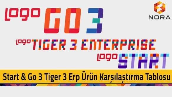 Logo start go3 tiger3 farkları